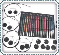 Knitters Pride cubiques Deluxe Sp/écial Aiguilles interchangeables de